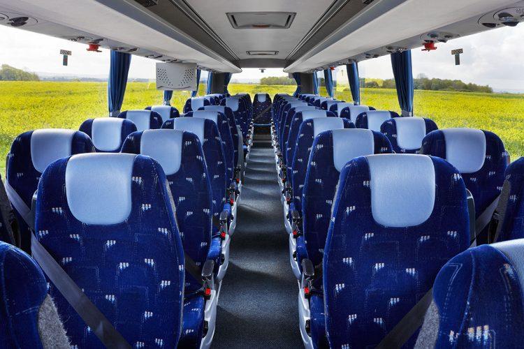 Charter Bus Seats Interior